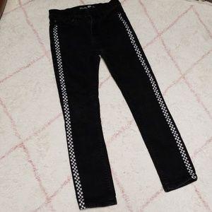 RSQ Tokyo Super Skinny Black Jeans - 12